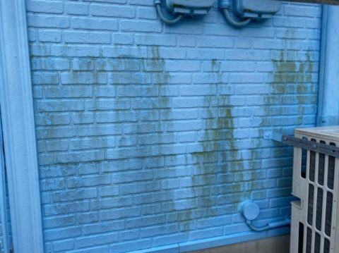 松阪市小津町前のメンテナンスから12年外壁にお悩みのお家に現場調査