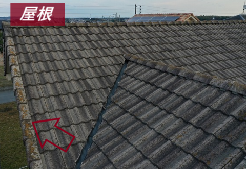 屋根の調査