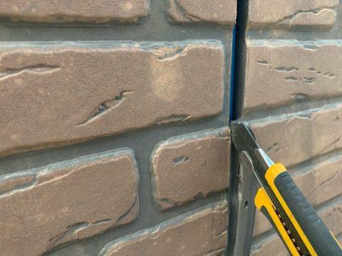 松阪市築18年シーリング打ち換え工事&屋根の棟板金のさび止め塗装