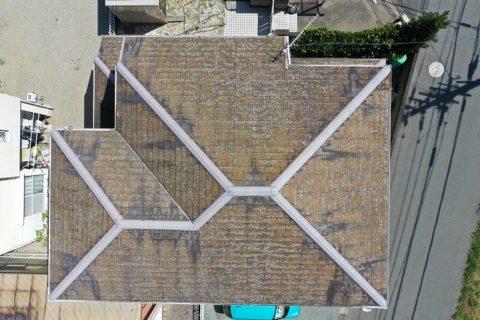 松阪市小野江町新築から30年カラーベストのお家に現場調査