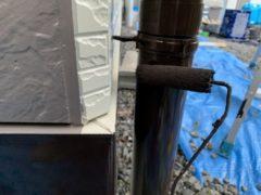 雨樋上塗り1回目