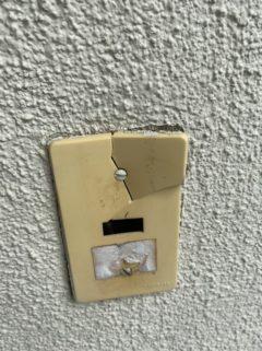 スイッチ破損