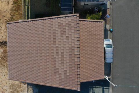 松阪市築15年瓦屋根は塗装不要でも点検は必須
