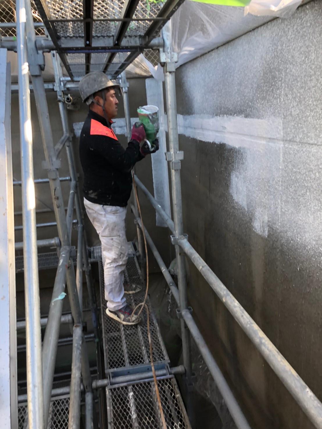 志摩市 S病院 塗装工事
